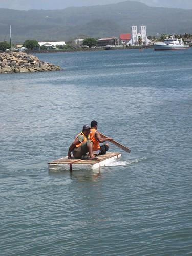 Apia marina worker transport