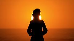 en un momento mgico (alb Marcos) Tags: sunset portugal playa puestadesol pedrogao simetria abigfave