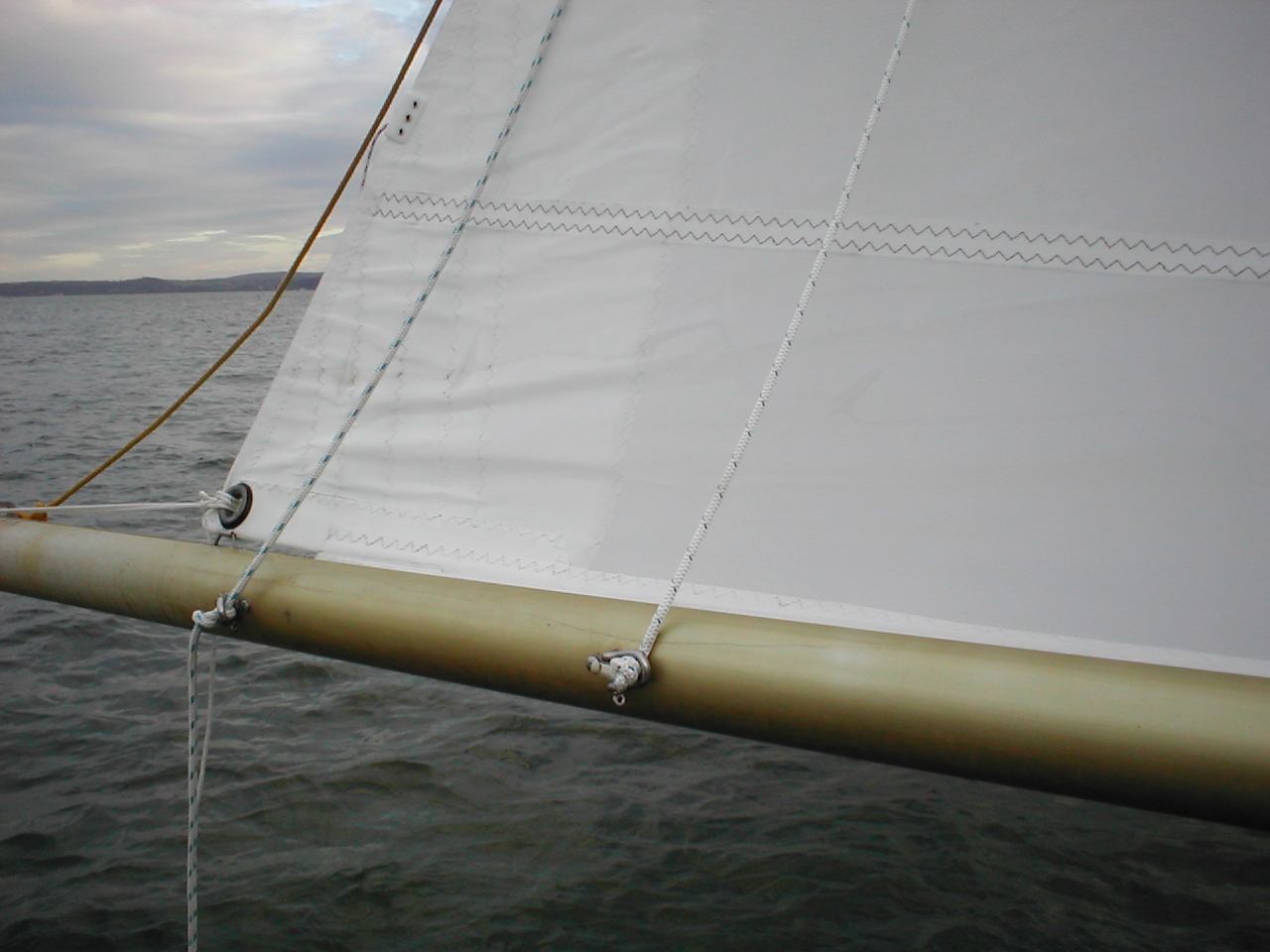 Archimedes - reefing lines