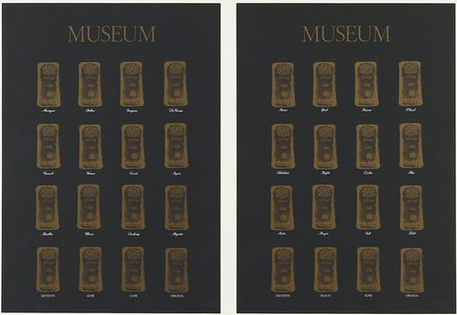 Broodthaers 'Museum-Museum' 1972 screenprint MoMA