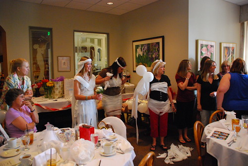 Toilet Paper Bride Contestants