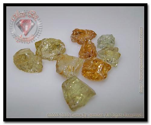 Merelani Yellow Grossular Garnets