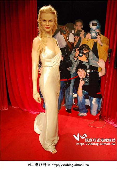 【香港自由行】香港太平山之旅~來杜莎夫人蠟像館探索吧!3