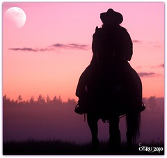 Well behaved Cowgirls barely make history... (cowgirlrightup) Tags: moon mist silhouette naughty cowgirl wildwest calamityjane cowgirlrightup happycanadadayxoxo