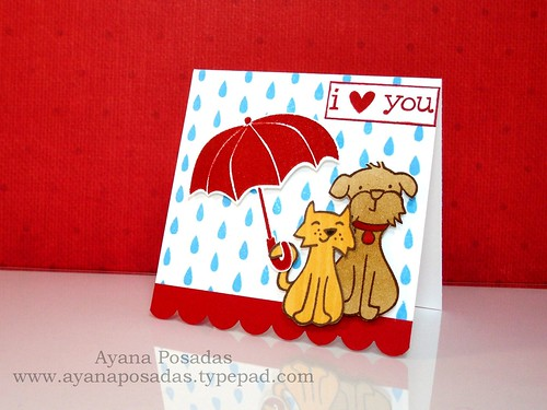 I Heart You in the Rain (Side)