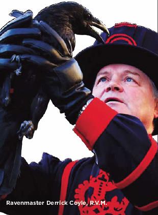 Torre de Londres e seus guardias