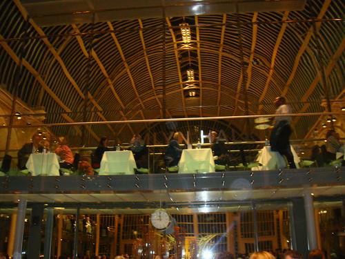Vista del restaurante del anfiteatro