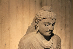 Seated Buddha in Meditation, 3rd Century, Northern India, Yale University Art Museum permanent collection. (Ian#7) Tags: buddha yale asianart artmuseums