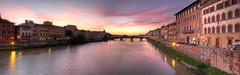 Sunset at Ponte alla Carraia, Firenze, Italy