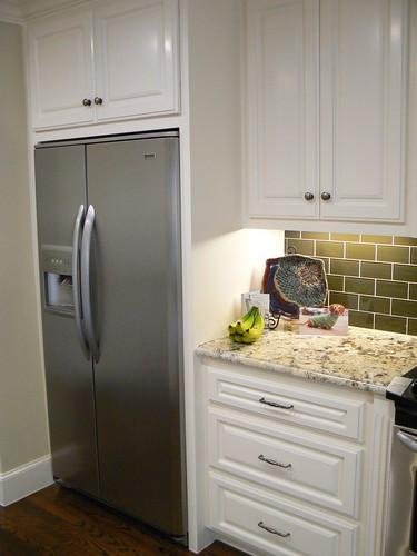 Built in kitchen refrigerator