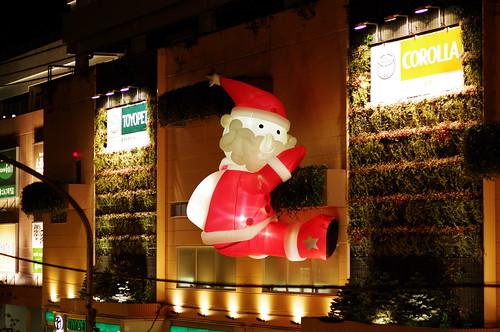 サンタさん降臨。ちょっとしんどそう。