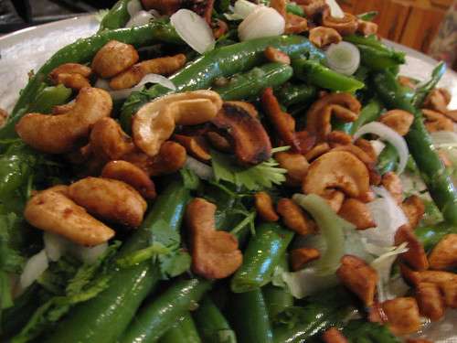 Fresh Green Bean Salad w/Asian Dressing