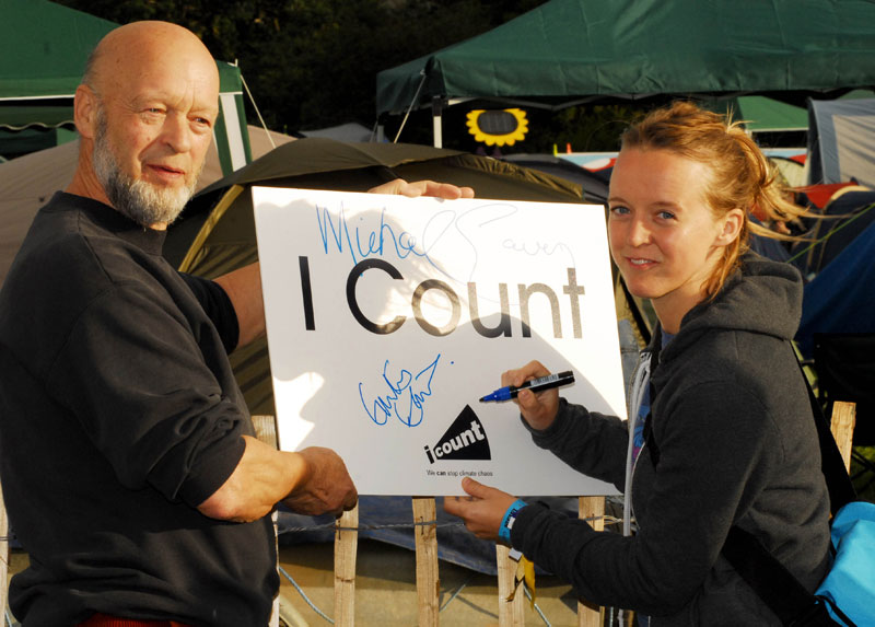 Michael and Emily Eavis make the switch