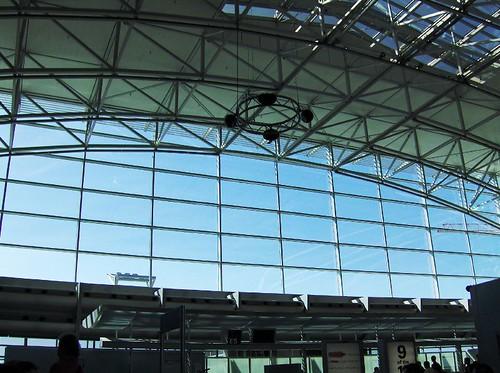 法蘭克福機場天花板