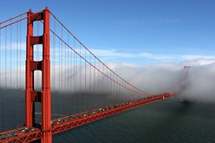 This is San Francisco (A Sutanto) Tags: sf sanfrancisco california ca bridge sky usa fog america goldengatebridge goldengate marinheadlands peopleschoice ggb abigfave perfectangle colorphotoaward superaplus aplusphoto goldenphotographer superhearts youvegottheeye lifetravel