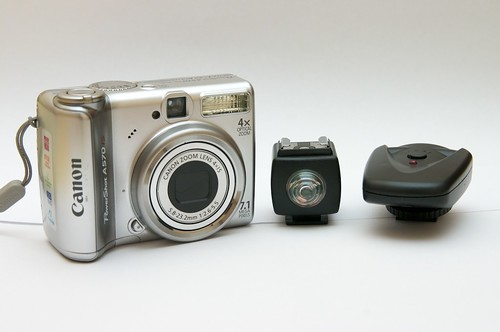Compact camera, Optical Trigger, Radio Trigger