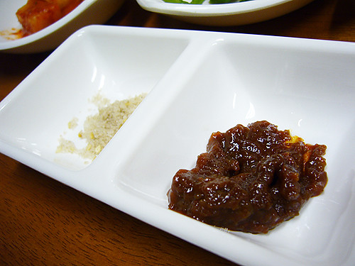 salt and bean paste