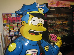 Chief Wiggum likes those doughnuts