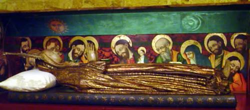 Virgen yacente