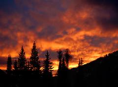 Sunset at Sunpeaks (Russ Beinder) Tags: sunset clouds bc cloudy topc50 sunpeaks anawesomeshot diamondclassphotographer flickrdiamond 2007031700038