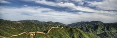 The Great Wall of China on a Summer Day (Stuck in Customs) Tags: pictures china lighting travel light sky panorama green art texture colors lines wall modern clouds composition work reflections painting photography intense nikon perfect exposure shoot artist mood photographer shot angle photos unique background details great d2x perspective beijing atmosphere images best edge processing pro greatwall framing capture tones hdr masterpiece treatment greatwallofchina mostviewed highquality stuckincustoms treyratcliff