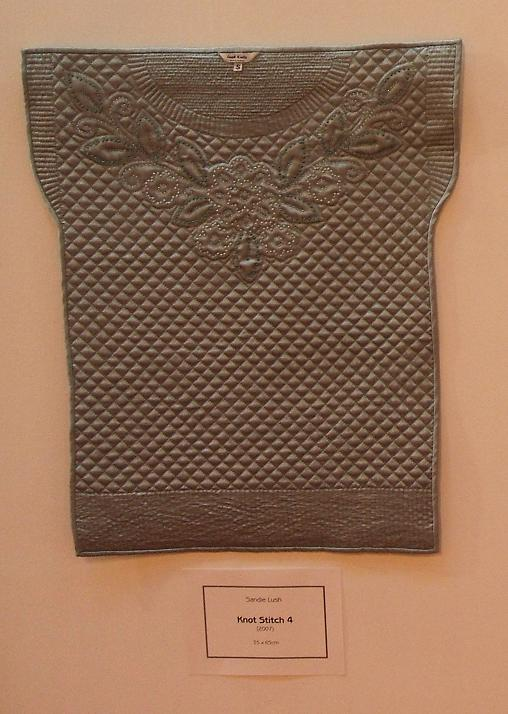 Knot stitch quilt