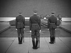 Honor Guard (shutterBRI) Tags: travel bw monochrome canon army photography three photo russia moscow military tomb powershot soldiers redsquare unknownsoldier kremlin 2007 honorguard a630 greatpatrioticwar mockba shutterbri anawesomeshot brianutesch flickrchallengegroup flickrchallengewinner photofaceoffwinner pfogold battleofmoscow brianuteschphotography