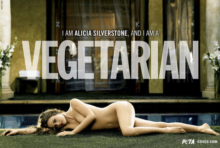 I AM ALICIA SILVERSTONE, AND I AM A VEGETARIAN