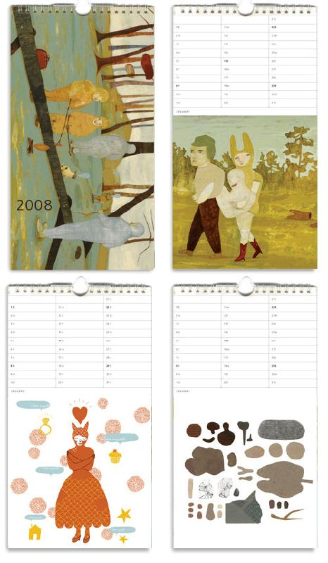 Camilla Engman: Order your '08 Calendar Now!