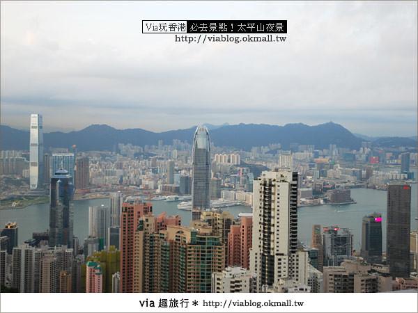 【香港自由行】必推!內有百萬夜景~香港太平山夜景15