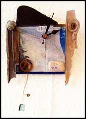 Broken Dreams (tartandart) Tags: sculpture art clock time craft dada tempus fugit stuckist 3harboursartsfestival shymerge
