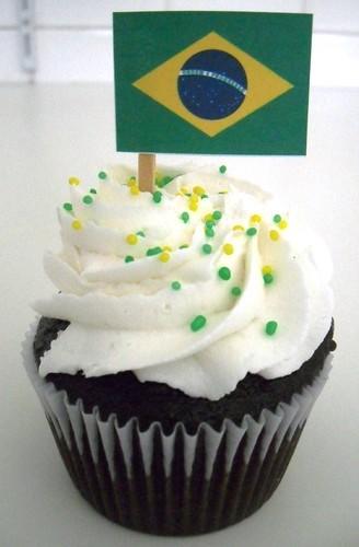 Love Copa!!! Torça pelo Brasil com a Love Cupcakes!!!