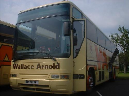 Wallace Arnold J714CWT Dover 1992 Bus Photo