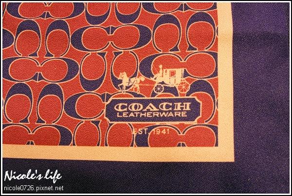 COACH方巾