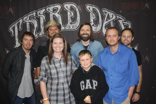 Us with Third Day