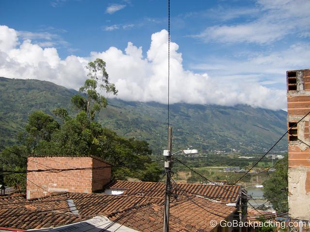 Mountain views from a Girardota apartment