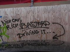 nice car... (wojofoto) Tags: amsterdam word straat schutting worden wojofoto
