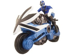 Blue Disk Cycle (Exia93) Tags: wild rescue storm lost force power dino time ninja space alien delta turbo galaxy jungle samurai operation mighty rangers thunder patrol fury mystic spd rpm zeo overdrive lightspeed 2011 morphin