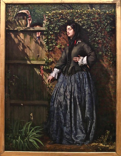 """Broken Vows"" by Philip Hermogenes Calderon, 1856"