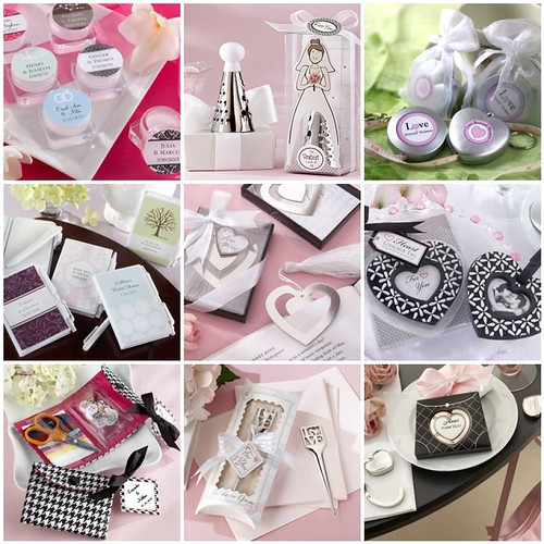 A Practical Wedding Real Weddings: Practical Bridal Shower Favors