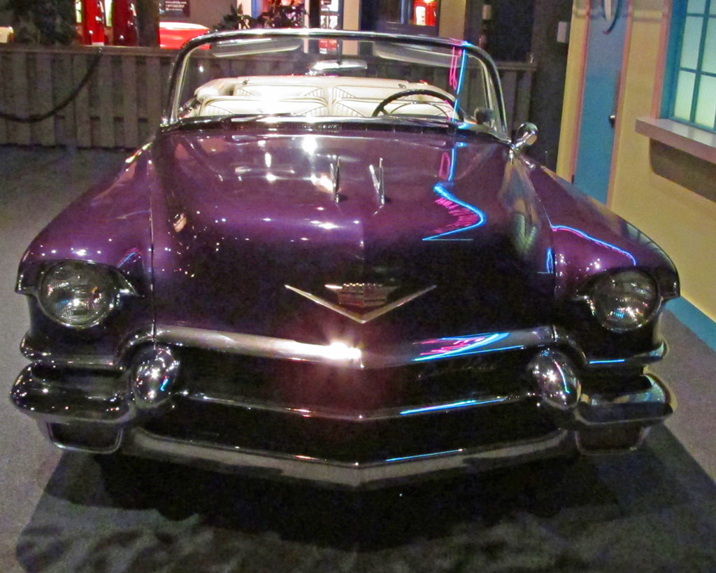 cadillac memphis travels trip road with elvis gary of pink