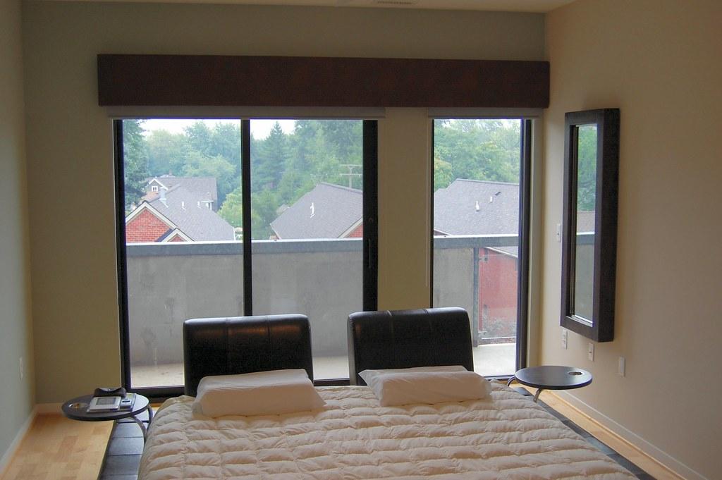 New solar blinds & cornice