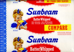 Sunbeam Bread Wrapper
