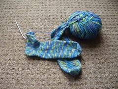 Picture of Kake's First Pair Of Socks