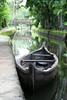 Canoe in Canal in Alleppy