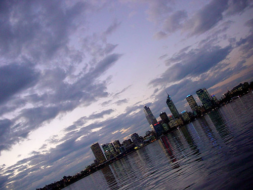 Perth city photo from Mends jetty