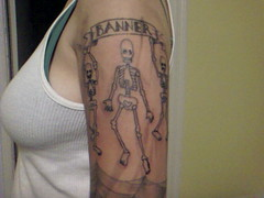 Scuffys new tattoo is amazing!