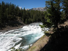 Bow River Waterfall, Banff, Alberta (FQuist) Tags: waterfall alberta banff bowriver
