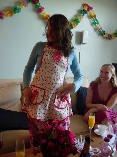 Melissa and Her New Apron