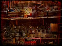 Workshop (Rick Elkins) Tags: wood old rust searchthebest tools workshop tasmania soe blueribbonwinner instantfave mywinners anawesomeshot superbmasterpiece infinestyle theperfectphotographer rickelkins